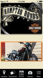 Hampton Roads Harley-Davidson- screenshot thumbnail
