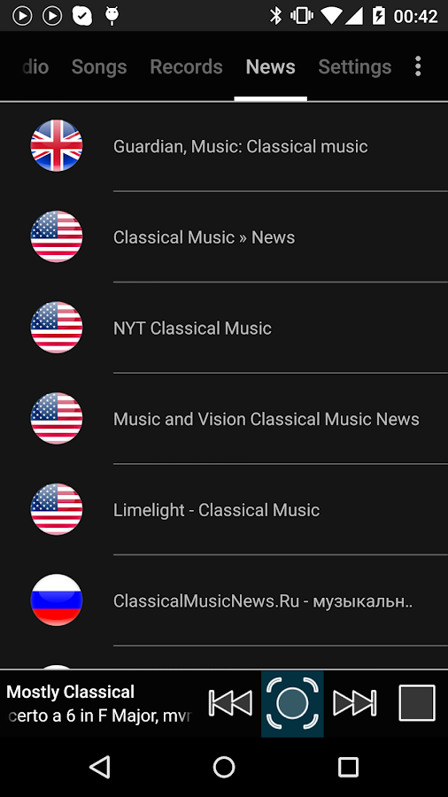 Classical Music Radio- screenshot