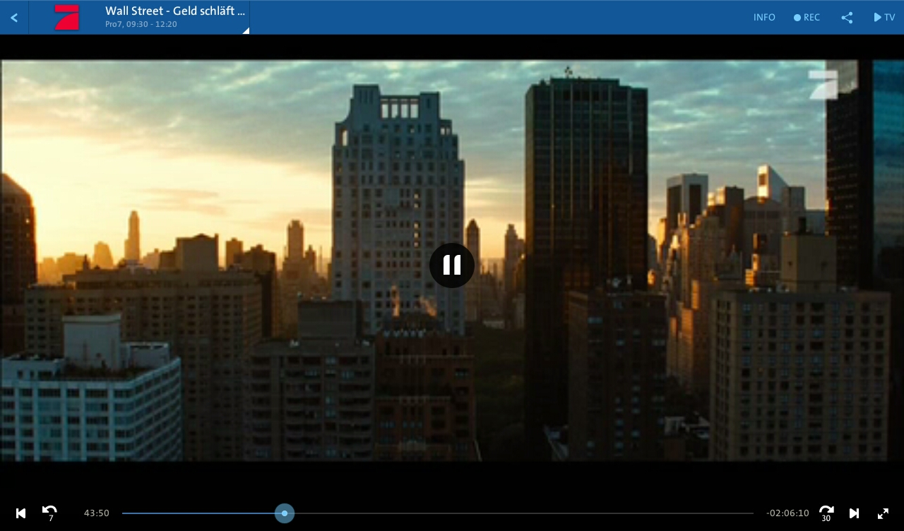 Swisscom TV - screenshot
