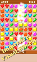 Screenshot of Candy Gems Story