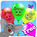 Tap the Balloons for Kids icon