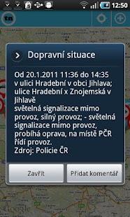 Dopravní informace tudyNE Free- screenshot thumbnail