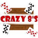 Crazy eights - Card game icon
