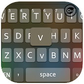GO Keyboard iPhone iOS 7 Black