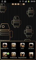 Screenshot of My Gold theme GO launcher EX