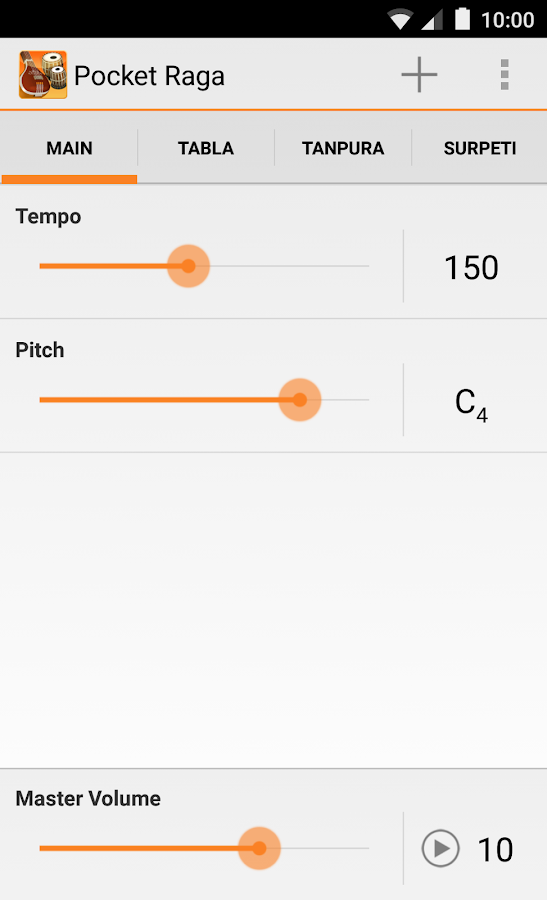 Pocket Raga - Tabla & Tanpura - screenshot