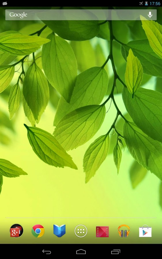Leaf Live Wallpaper Android Apps On Google Play