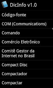 Dicionário DicInfo- screenshot thumbnail