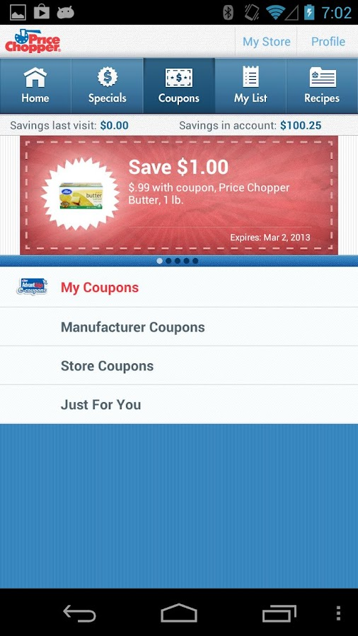 Price Chopper - screenshot