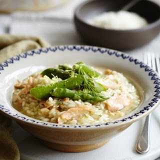 Smoked Salmon and Lemon Risotto with Asparagus Recipe