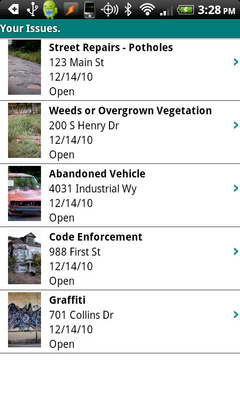 Pasadena - Citizen Service - screenshot