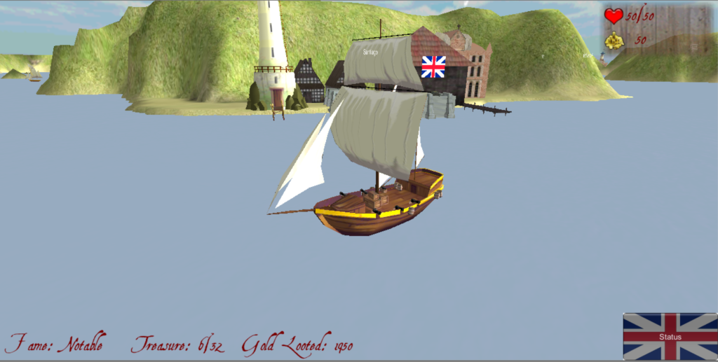 Pirate Sim - screenshot