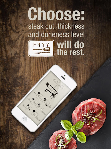 Fryy - Grill BBQ steak timer