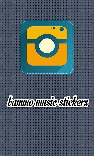 Music Stickers - Bammo