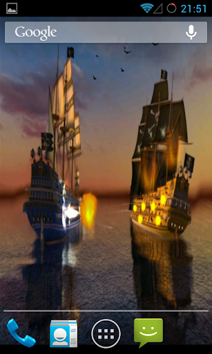 Pirates Live Wallpaper