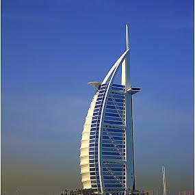 Burj Al Arab - Dubai by Sakis Prodigy - Buildings & Architecture Office Buildings & Hotels ( dubai, burj al arab, sea, hotel, united emirates )