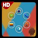 Android 4.4 Kitkat Smart Theme icon