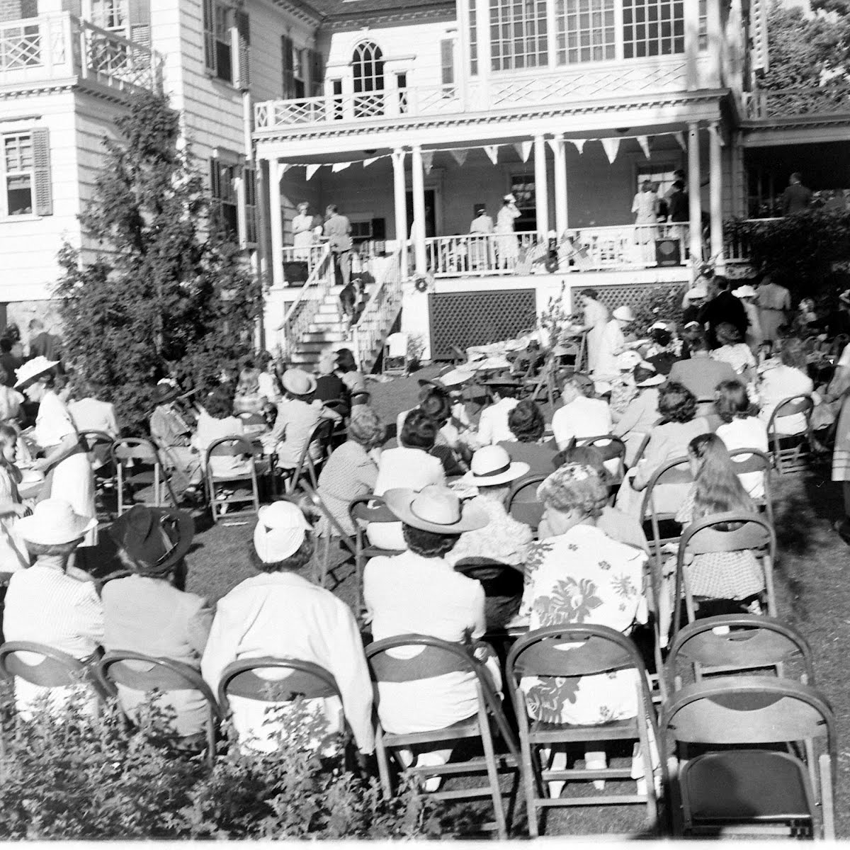 Ridgefield, Connecticut, Church Harvest Festival 1942