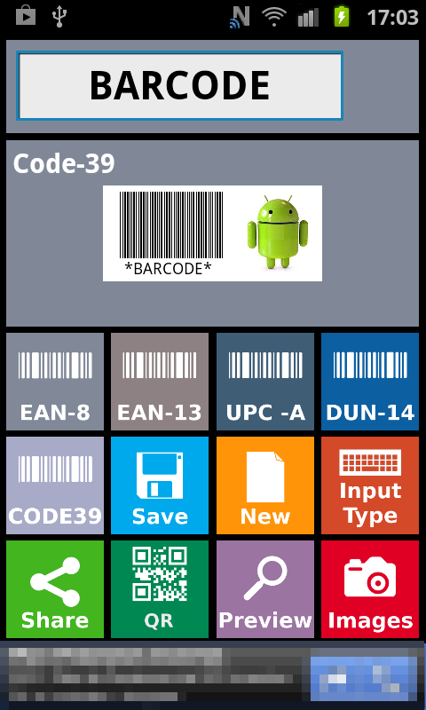 Barcode Creator Trial- screenshot
