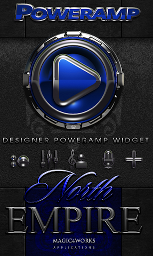 Poweramp Widget North Empire