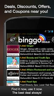 binggo deals offers & coupons - screenshot thumbnail