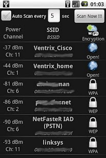 WiFi Scanner - screenshot thumbnail