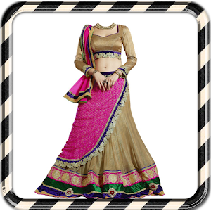 Woman Lengha Choli Suit Photo