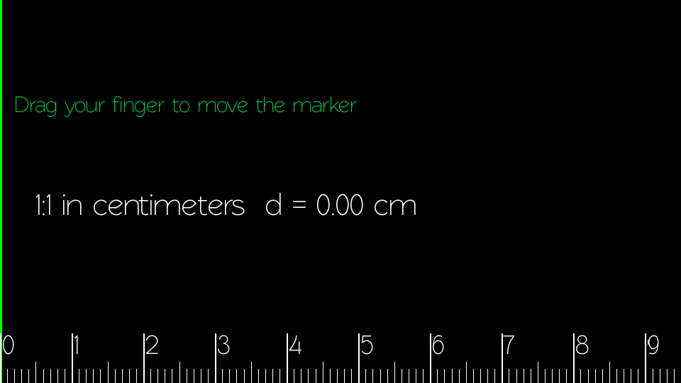 Scale Ruler - screenshot