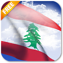 3D Lebanon Flag Live Wallpaper icon