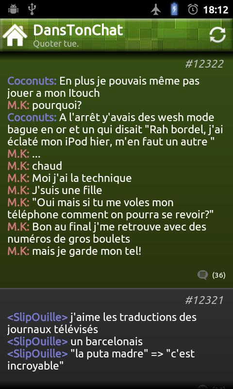 DansTonChat Officiel - screenshot