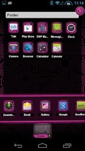 PCB Pink HD TSF Shell Theme - screenshot thumbnail