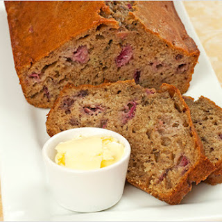 Strawberry-Banana Quick Bread