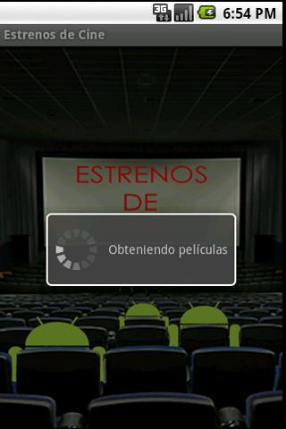 Estrenos de Cine - screenshot