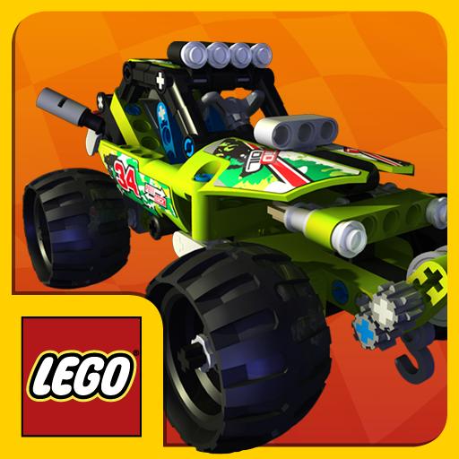 赛车游戏のLEGO® Technic Race LOGO-記事Game