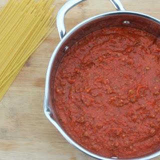 Homemade Italian Spaghetti Sauce