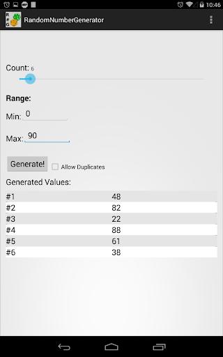 玩工具App|Random Number Generator免費|APP試玩