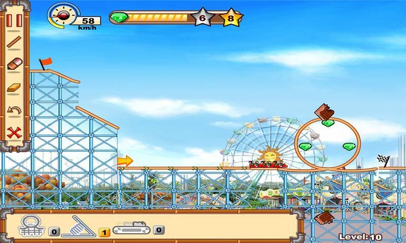 Roller Coaster 2 - screenshot