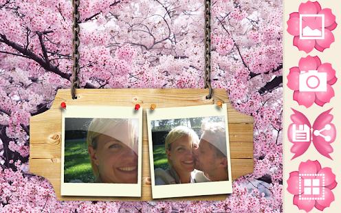 櫻相架大自然 - 櫻桃開花美麗幀