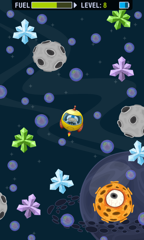 Astro Dodger- screenshot
