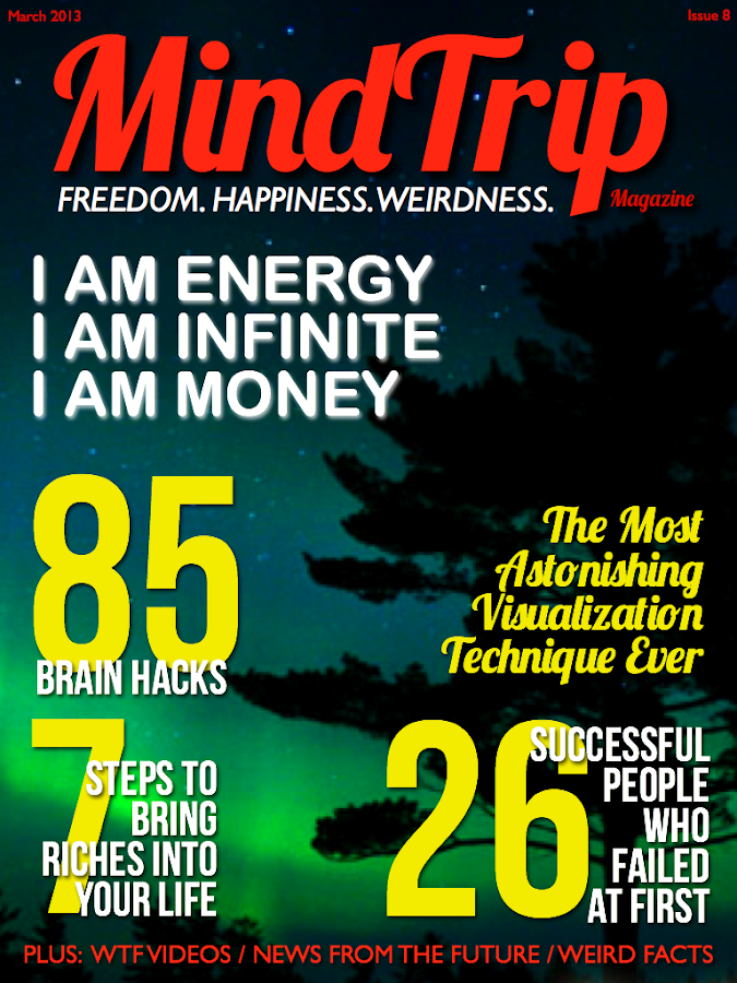 MindTrip Magazine- screenshot