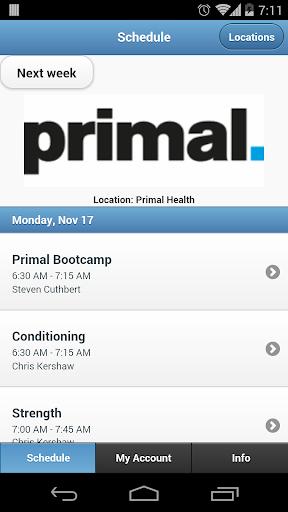 Primal Gym