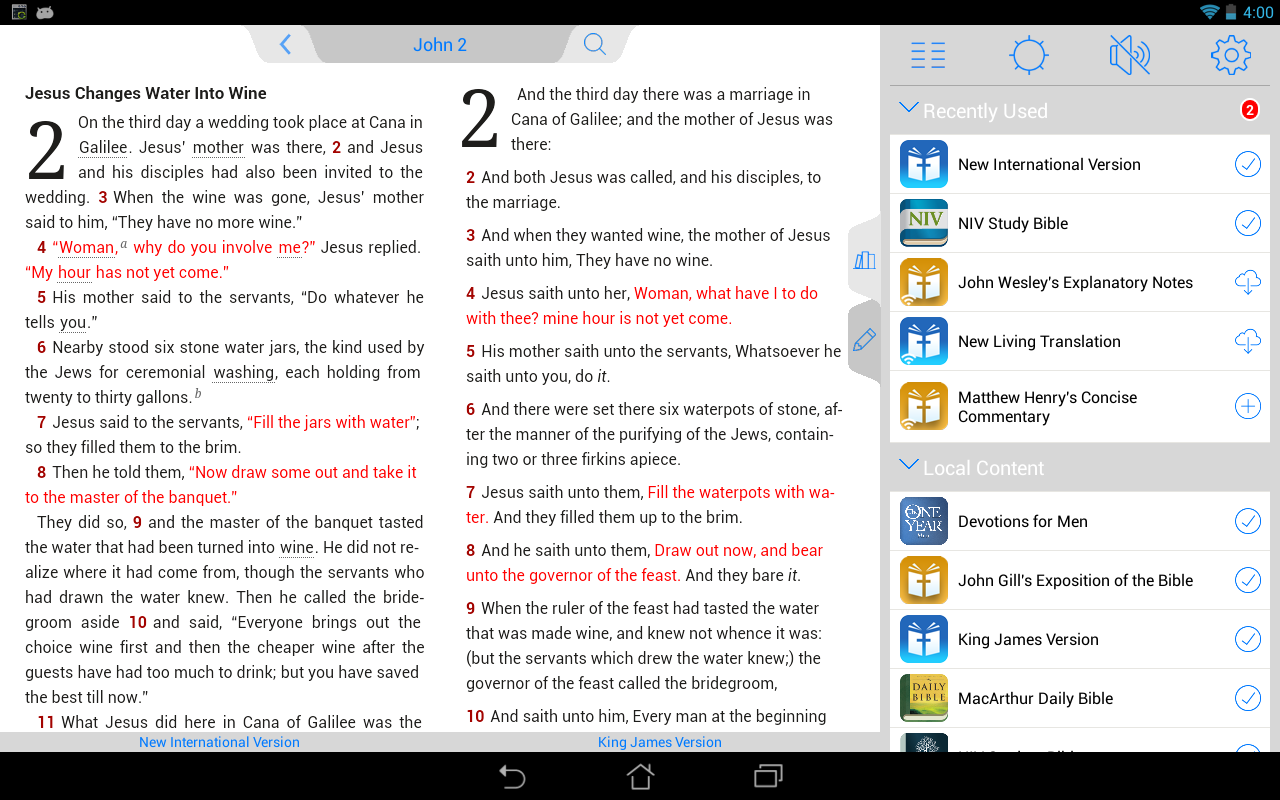 NKJV Bible - screenshot