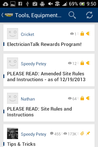 Electrician Talk- screenshot