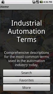 Industrial Automation Terms - screenshot thumbnail
