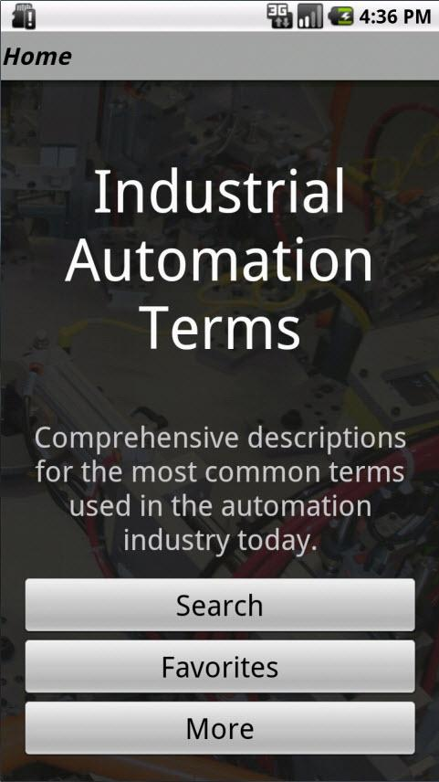 Industrial Automation Terms - screenshot