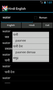 English Hindi Dictionary screenshot 0