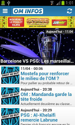 OM Infos - screenshot