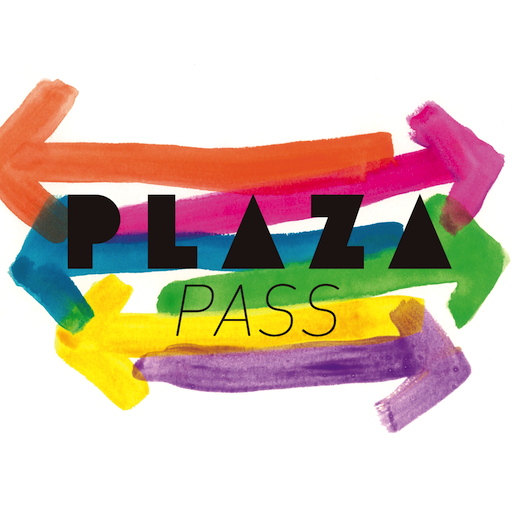 PLAZA PASS LOGO-APP點子