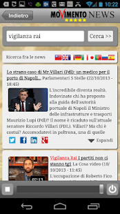 M5S News (+LaCosa Player)- screenshot thumbnail
