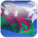 3D Welsh Flag icon